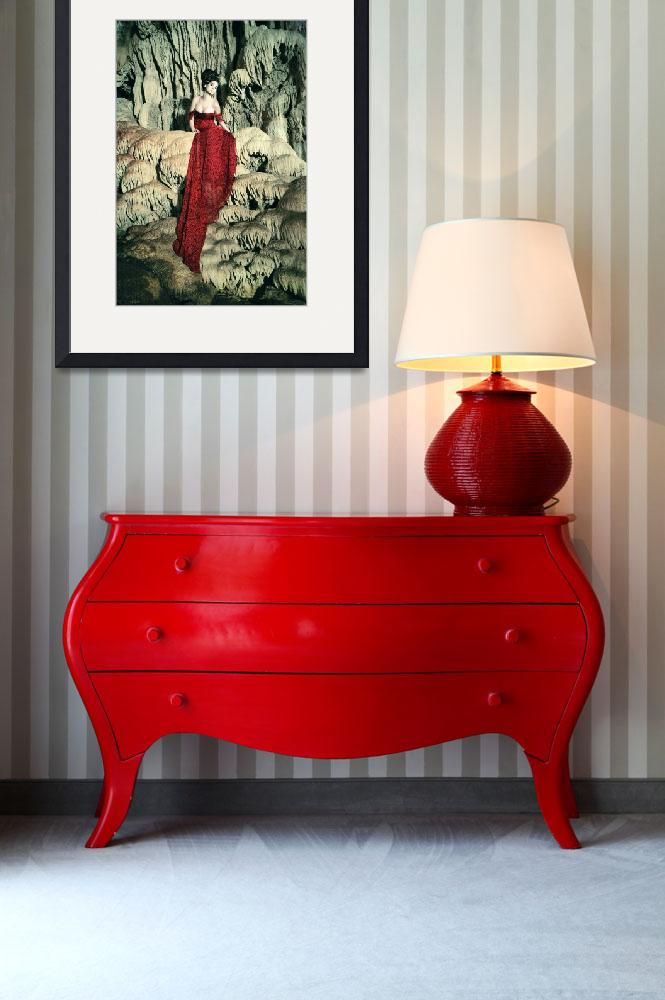 """Red Throne&quot  (2009) by lauraferreira"