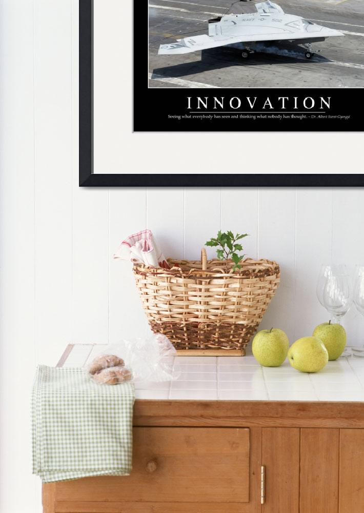"""Innovation: Inspirational Quote and Motivational P&quot  by stocktrekimages"