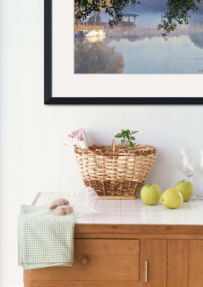"""Autumn Fog&quot  (2010) by bettynorthcutt"