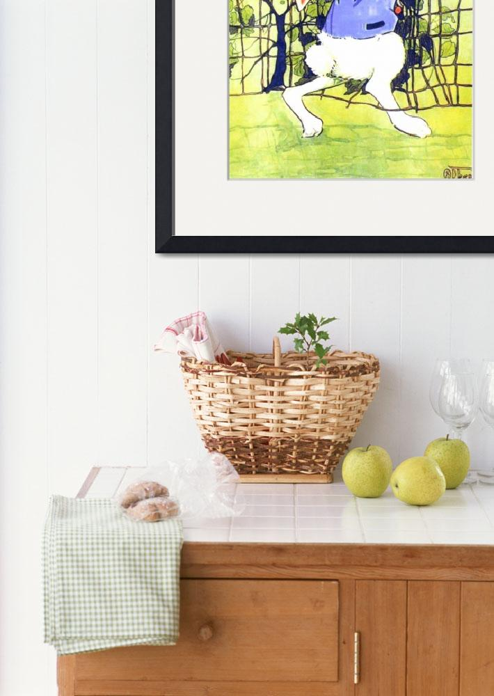 """CLASSIC PETER RABBIT ILLUSTRATION&quot  (1916) by homegear"