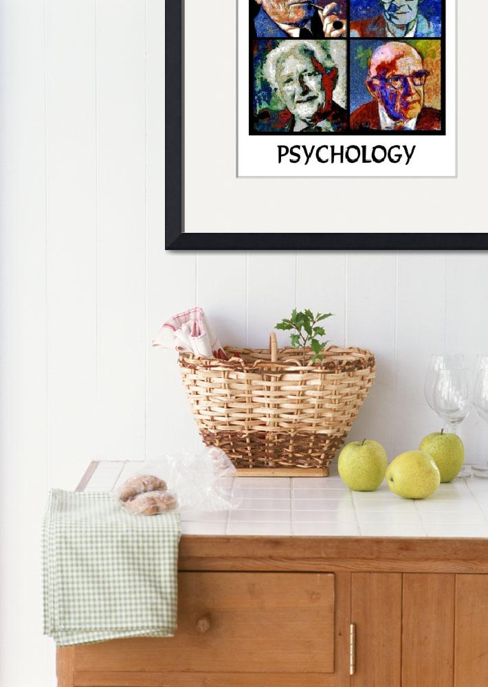 """Psychology Poster&quot  (2013) by jerrybacik"