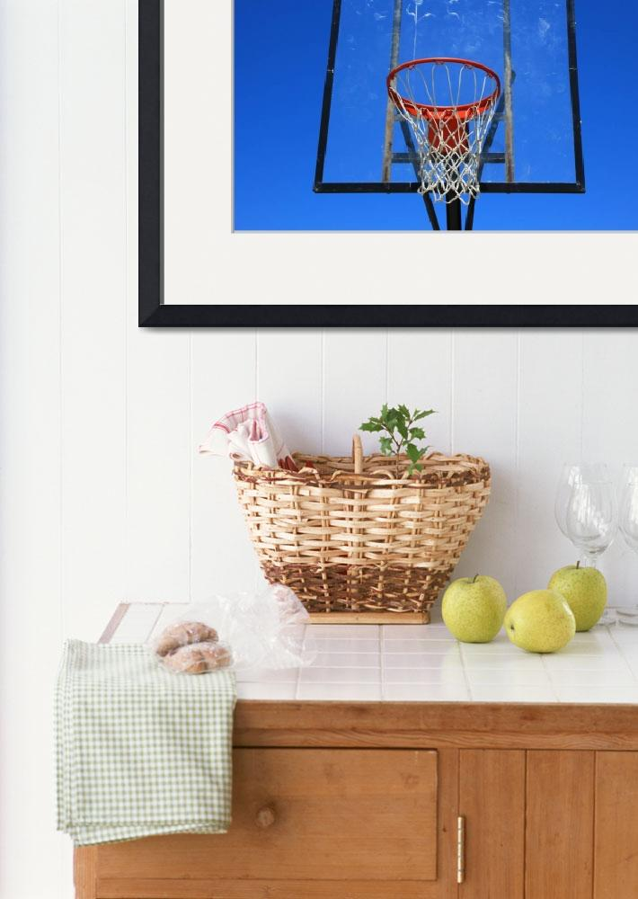 """Basketball Net and Hoop&quot  (2015) by rhamm"