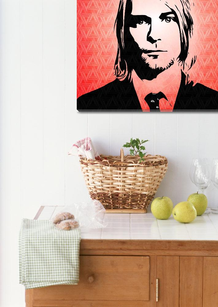 """Kurt Cobain - Pop Art&quot  (2015) by wcsmack"