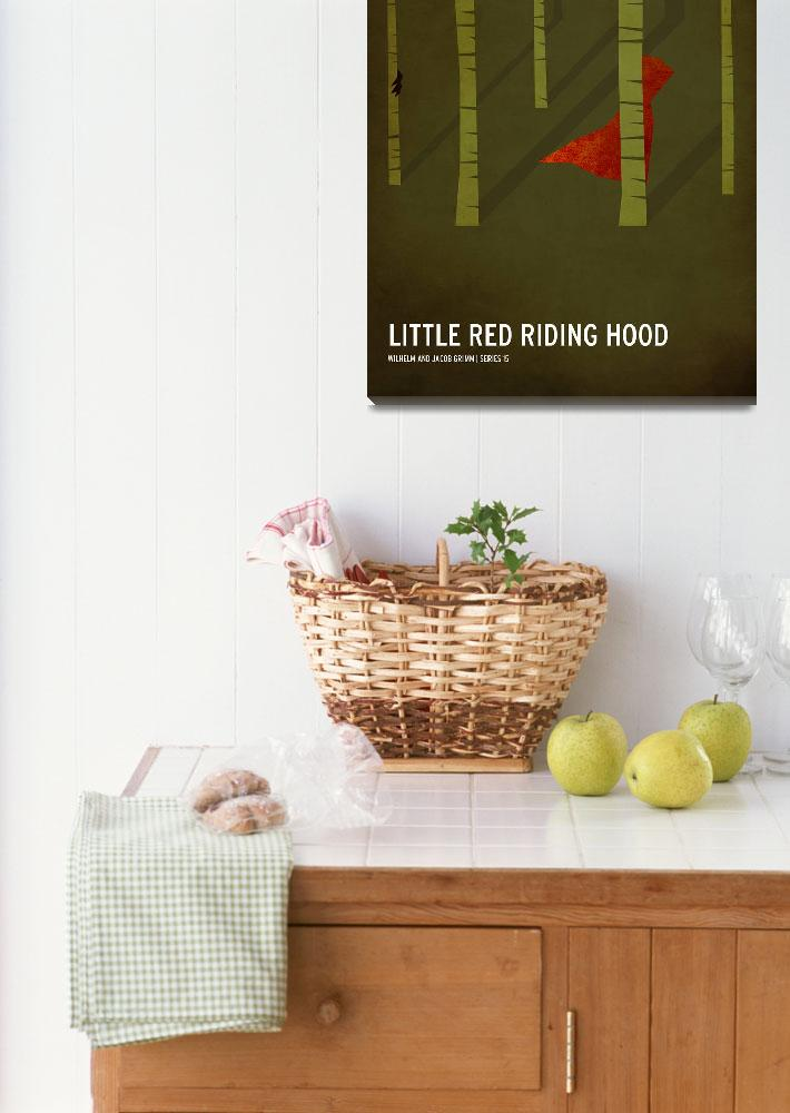 """Little Red Riding Hood&quot  (2010) by squareinchdesign"