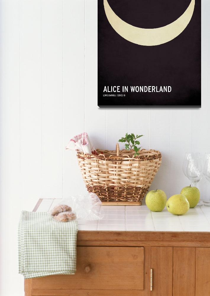 """Alice In Wonderland&quot  (2010) by squareinchdesign"