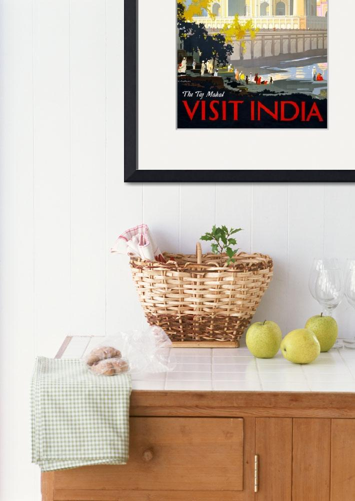 """Visit India&quot  (2011) by dalidayna"