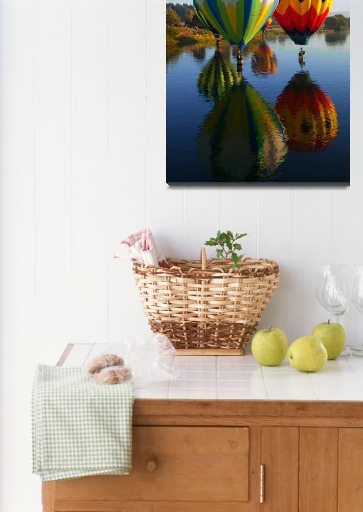 """Dipping the Basket&quot  (2010) by Dawsonimages"
