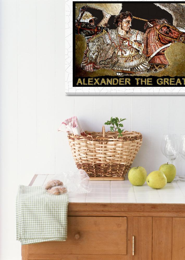 """ALEXANDER THE GREAT MOSAIC&quot  (2009) by EARLFERGUSON"
