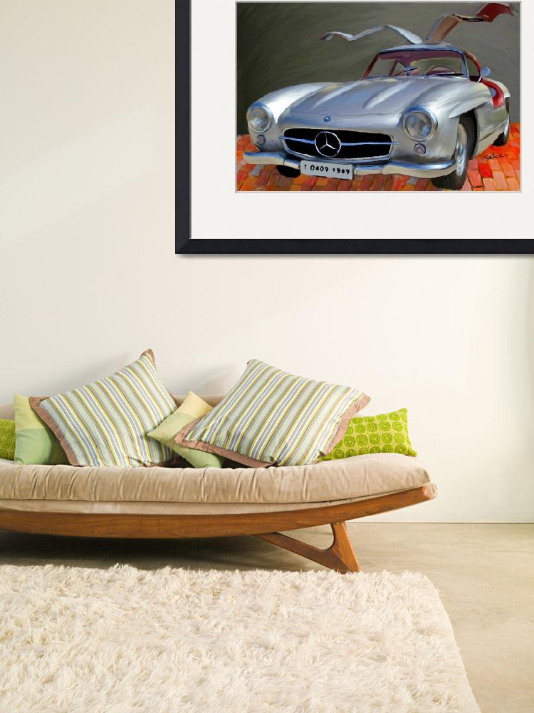 """Mercedes Benz 300 SL, GULLWING&quot  (2006) by ArtbySachse"