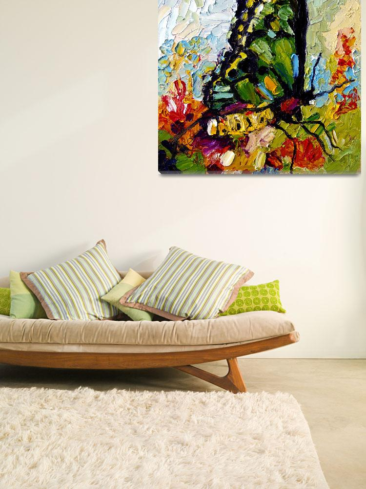 """Tropical Butterfly Oil Painting by Ginette&quot  (2011) by GinetteCallaway"