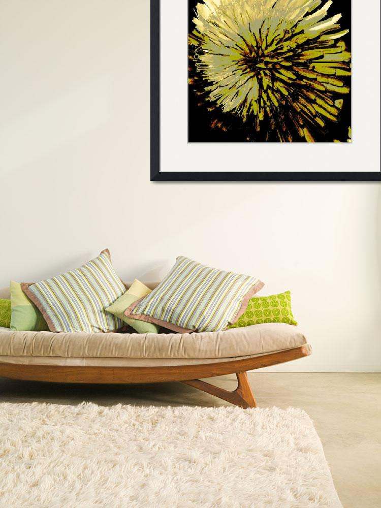 """Dandelion on Steroids&quot  (2008) by bavosiphotoart"
