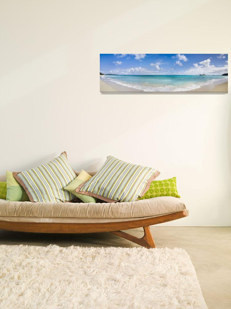 """Tropical Beach Panorama&quot  (2009) by johnlund"