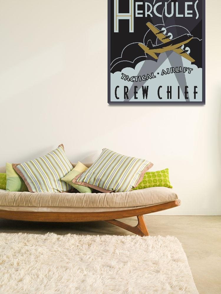 """Herk Deco - C-130J Crew Chief - Super Edition&quot  (2013) by mabrooks"