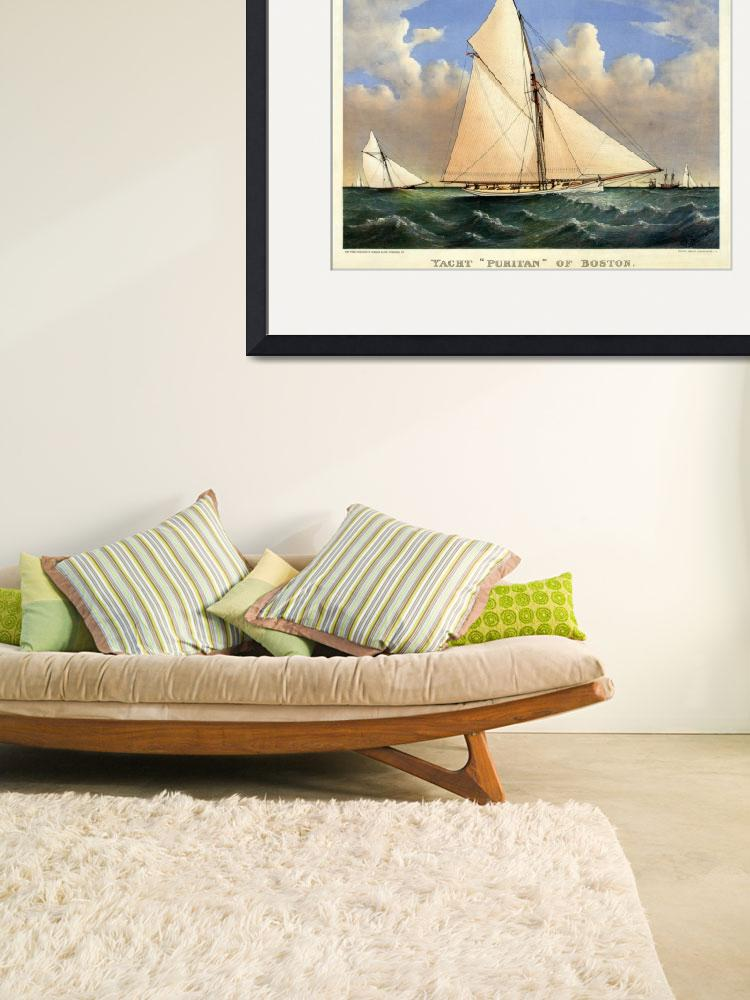 """YACHT PURITAN BOSTON&quot  by homegear"