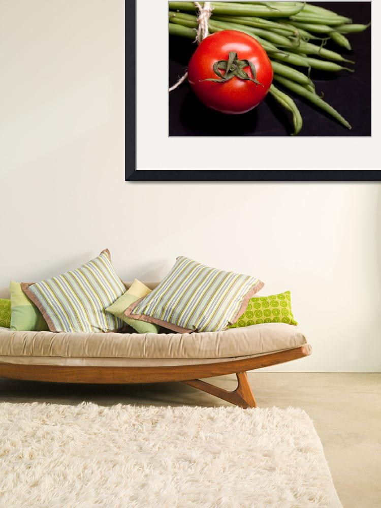 """Tomato And Green Beans&quot  (2011) by shopartgallery"