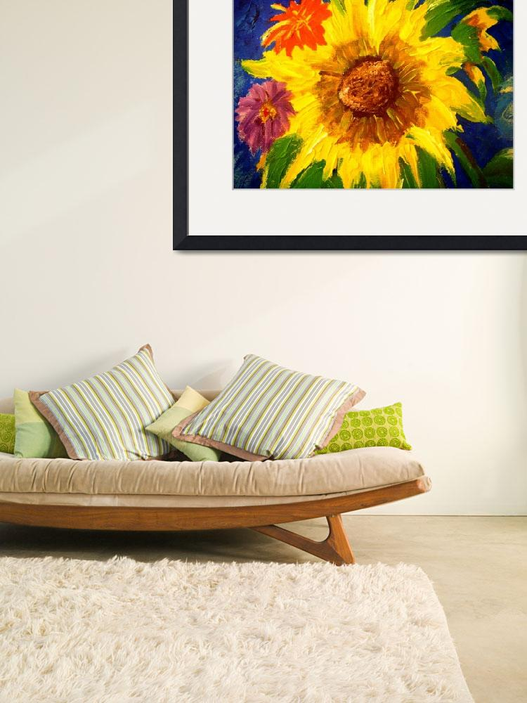 """Sunflowers2&quot  (2009) by magnoliadorn"