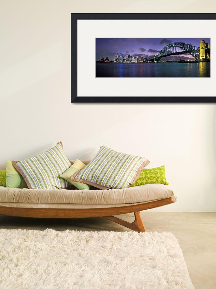 """Sydney Harbour Bridge&quot  by AdrianWarren"