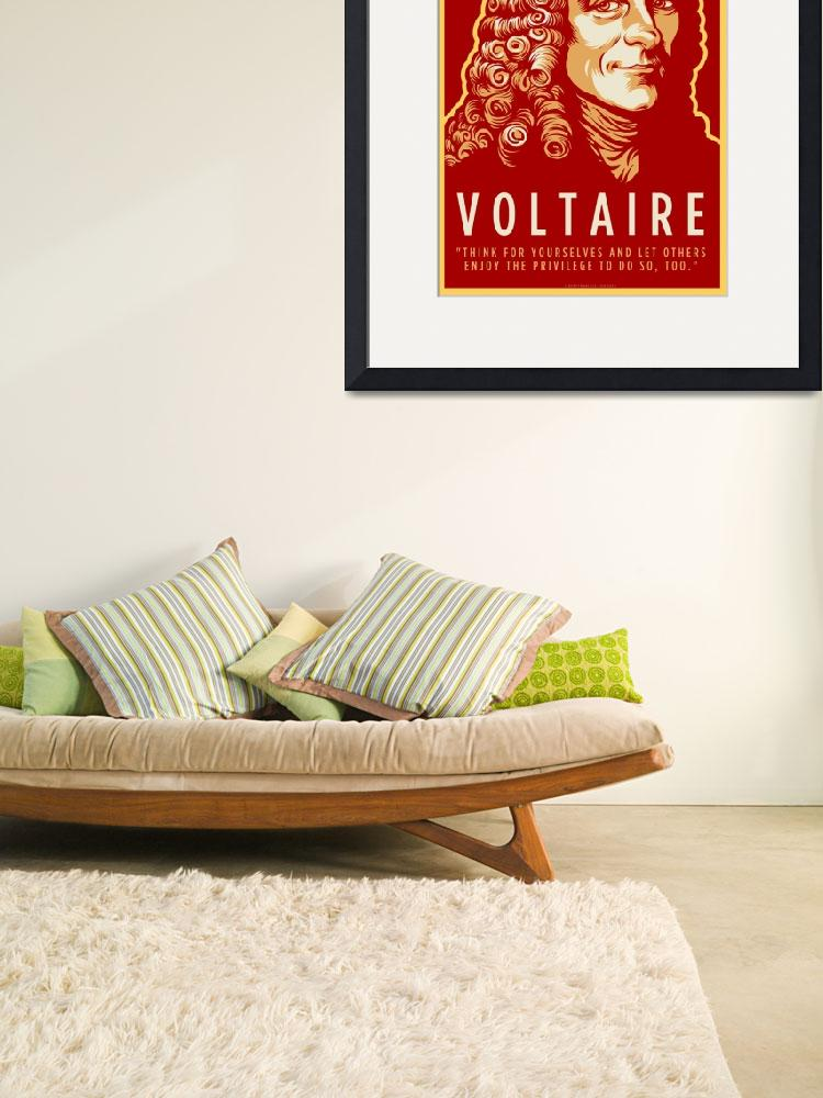 """Voltaire&quot  (2010) by libertymaniacs"