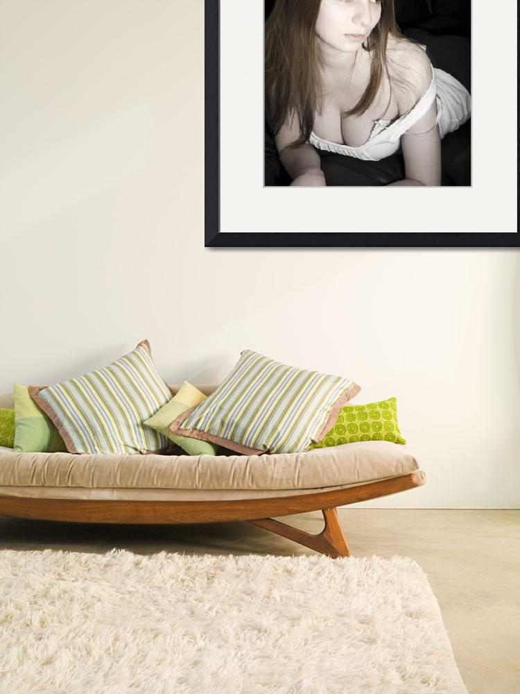 """Girl on sofa&quot  (2012) by ZoltanFabian"