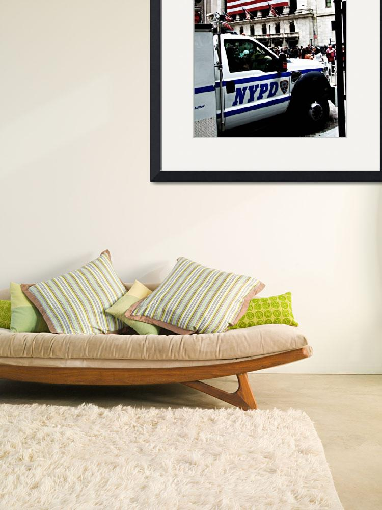 """NYPD @ Wall St.&quot  by CraigWilson"