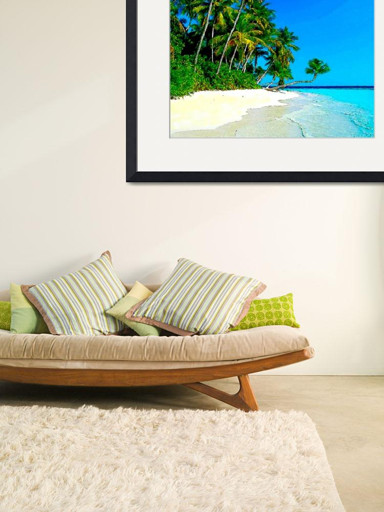 """Punta Cana Tropical Shore&quot  (2009) by Caribbean-Digital-Art"