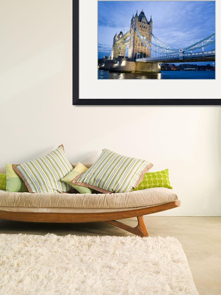 """Tower Bridge&quot  (2008) by phaif"
