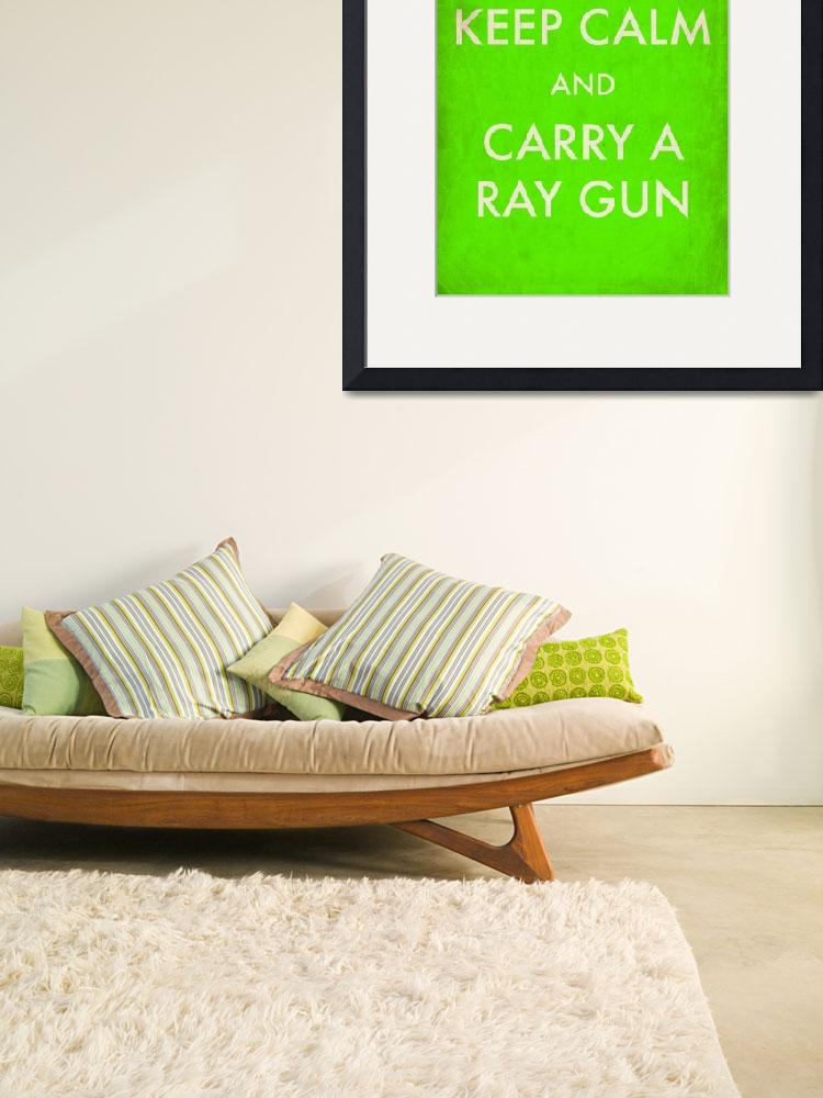 """rayguns green aged&quot  by TravisPitts"