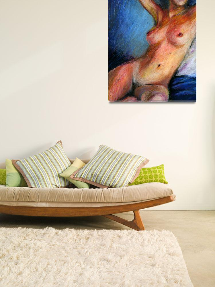 """Reclining Nude&quot  (2008) by ArunasArt"