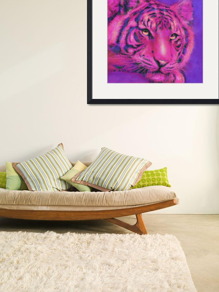 """pink tiger&quot  (2015) by pietrastone"