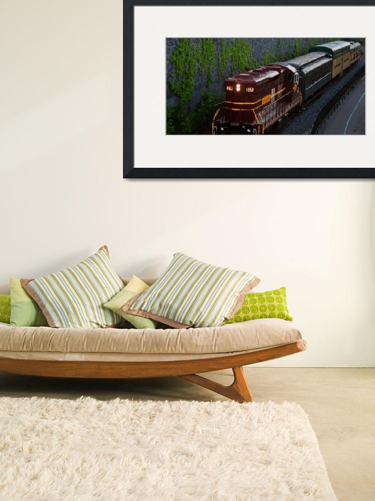 """North Shore Scenic Train 2&quot  (2011) by LJdesigns"