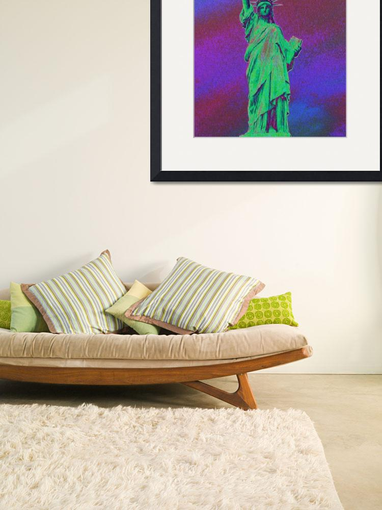 """Statue of Liberty PoPaRt- 158&quot  by coolnycgifts"