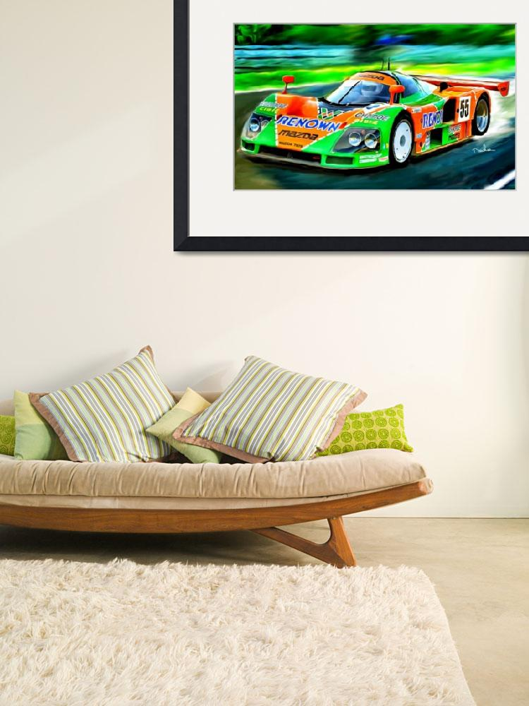 """MAZDA 787 B, 1991  LeMans winner&quot  by ArtbySachse"