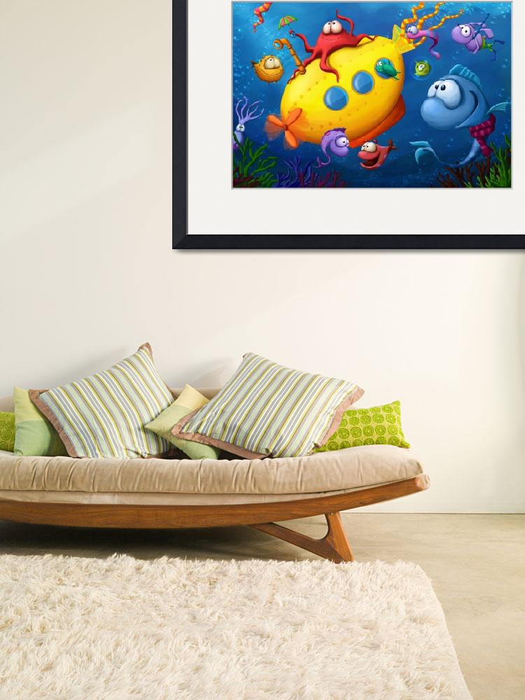 """Sea Life&quot  (2009) by Tooshtoosh"