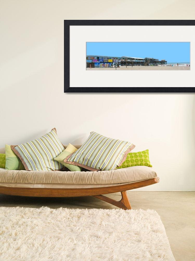 """south side 24x30 Cocoa Beach Pier&quot  (2011) by wgilroy"