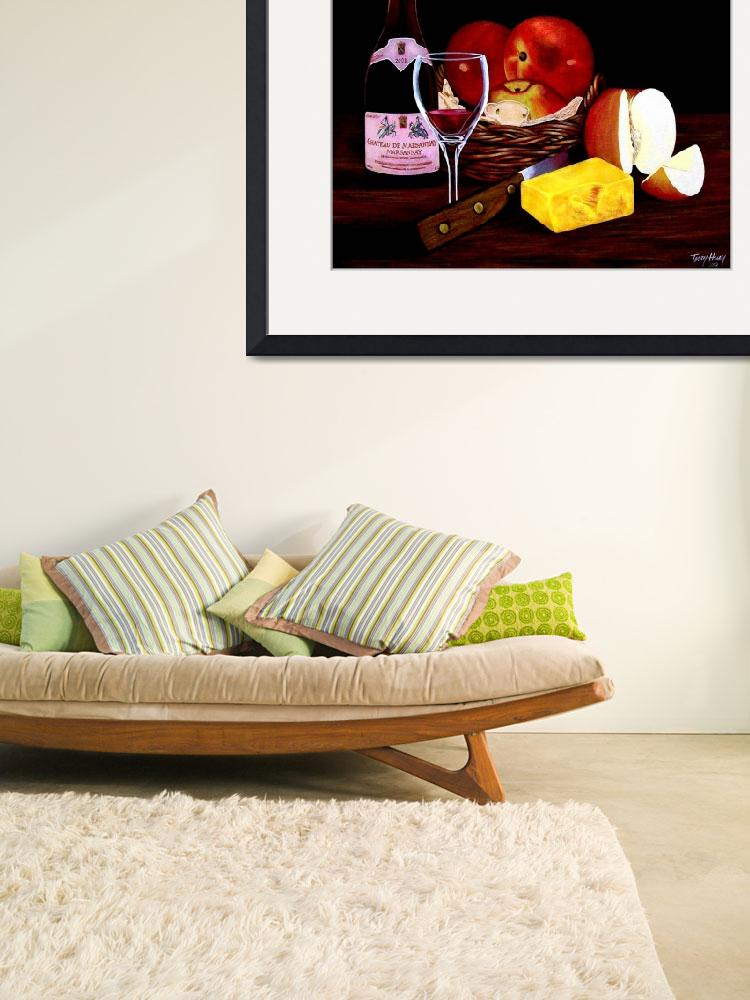 """APPLE STILL LIFE&quot  (2010) by terryhuey"