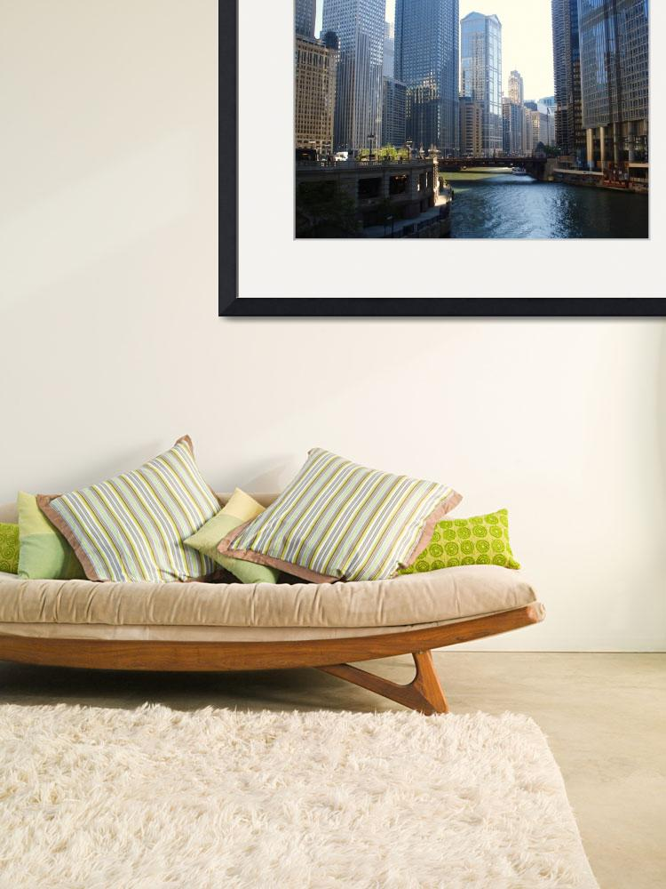 """Chicago River&quot  (2008) by asel"