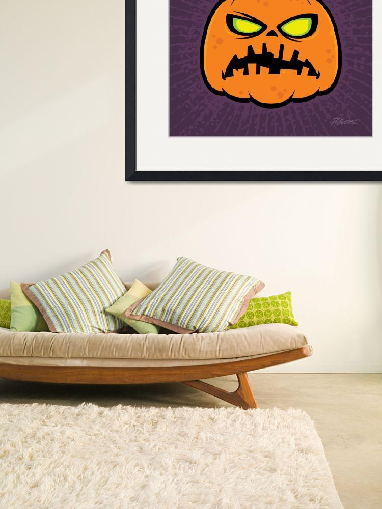 """Pumpkin Zombie&quot  (2010) by schwegel"