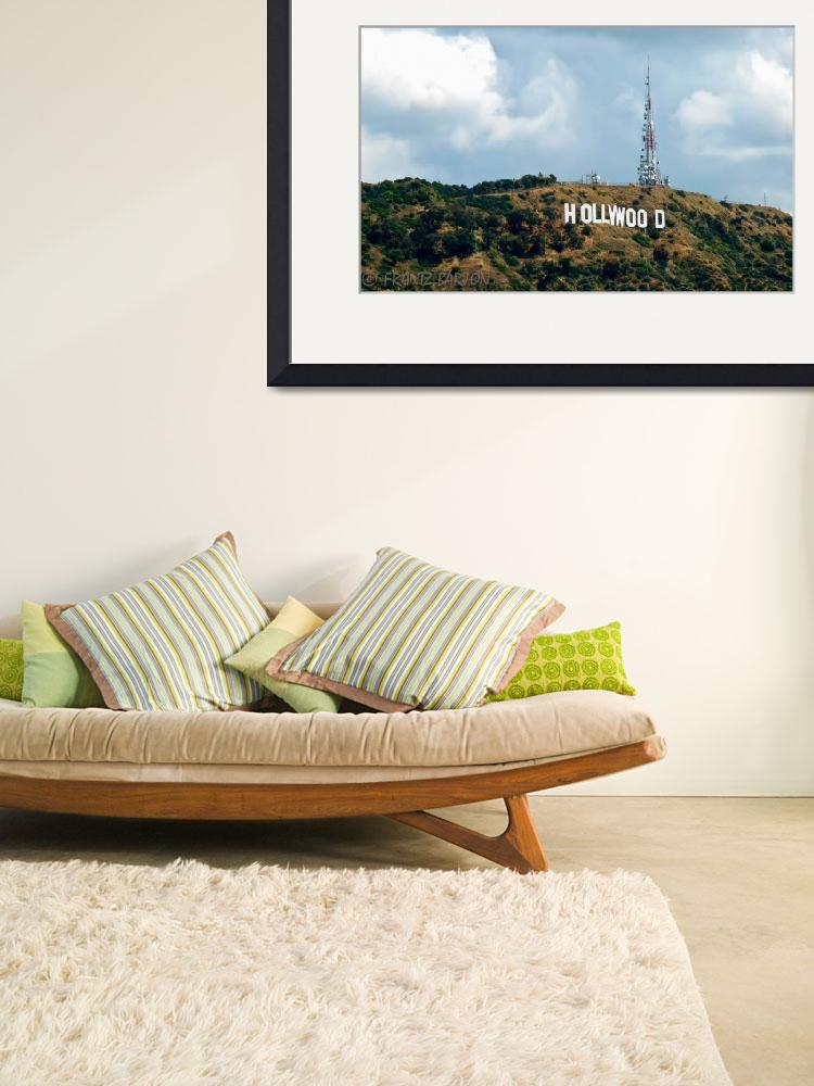 """The Hollywood Sign&quot  (2011) by Barjay"