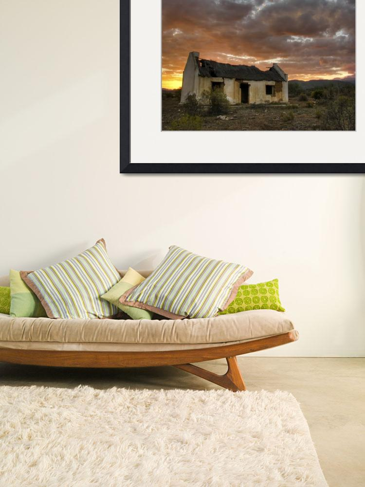 """Old Karoo farm house&quot  (2011) by Snaphaan"