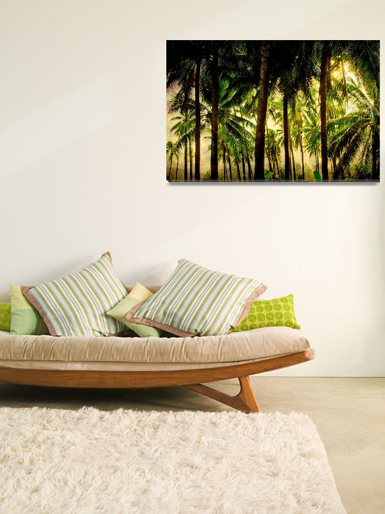 """Tropical Paradise Fine Art&quot  (2011) by lightningman"