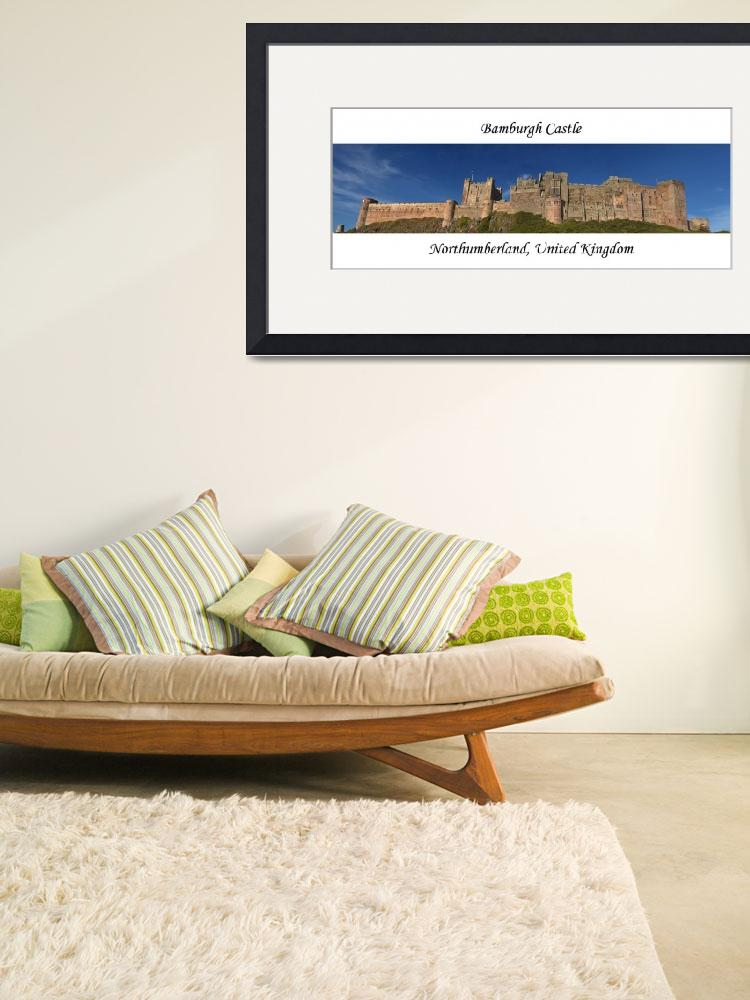 """Bamburgh Castle Panoramic&quot  (2007) by soa"