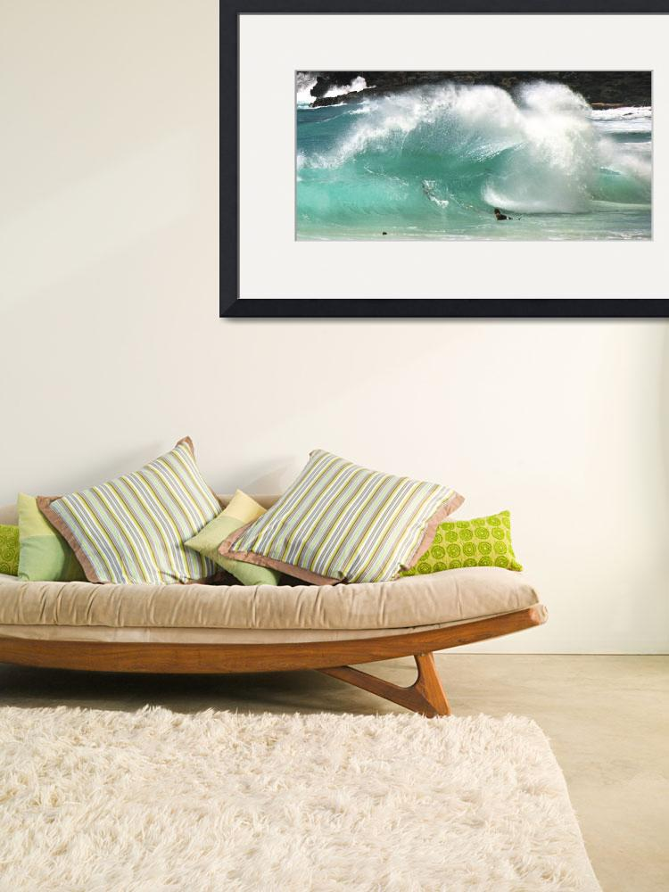 """Sandy Beach Shorebreak&quot  (2003) by skystudiohawaii"