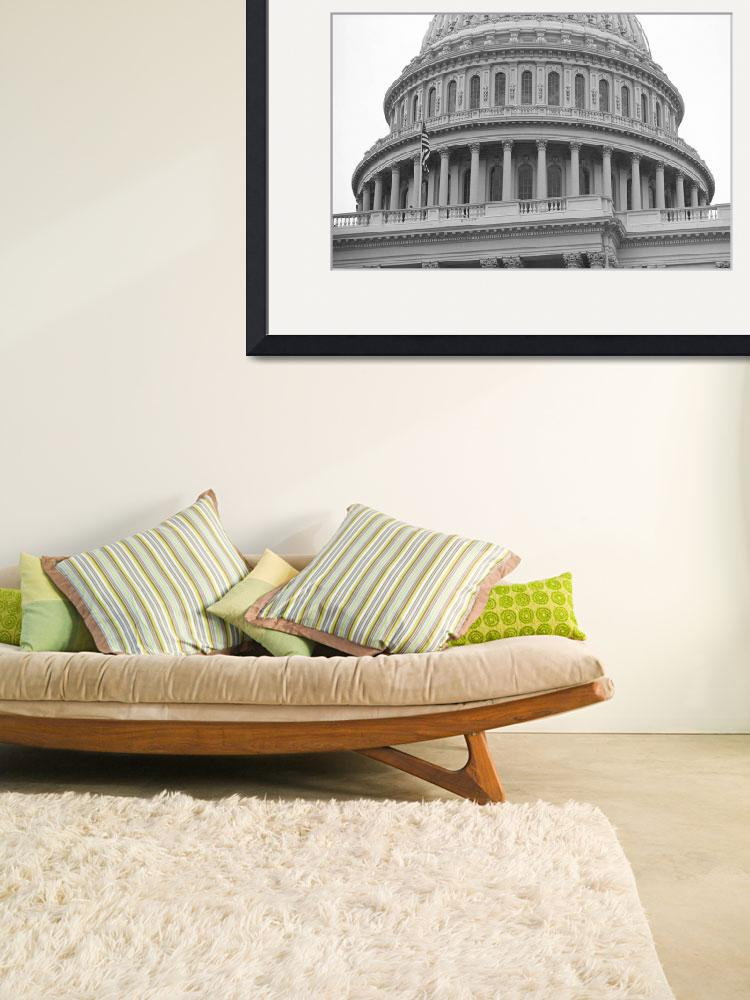 """United States Capitol Building&quot  (2005) by Ffooter"