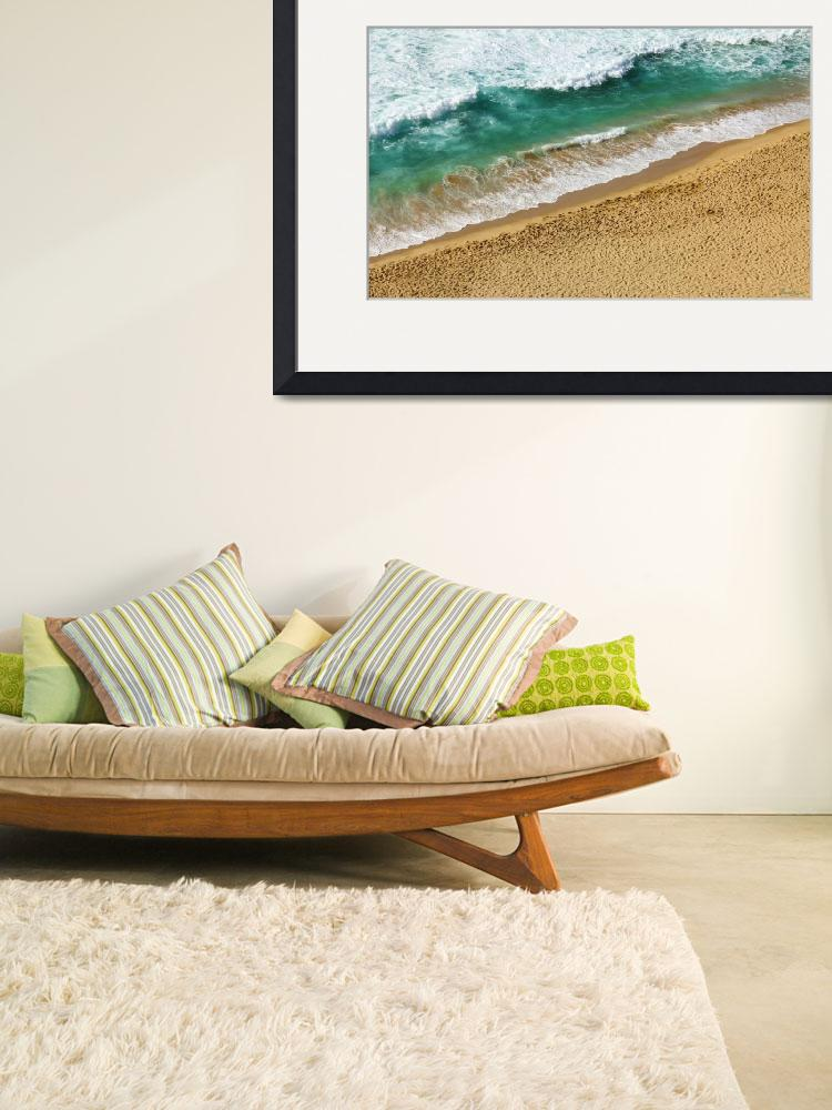 """Treasure Coast Florida Beach Seascape B8&quot  (2015) by Ricardos"