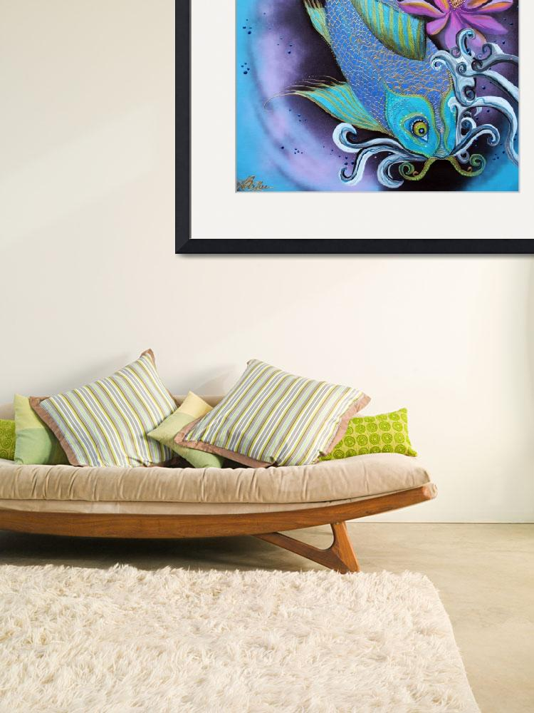 """Dragon Fish&quot  (2015) by ArtPrints"