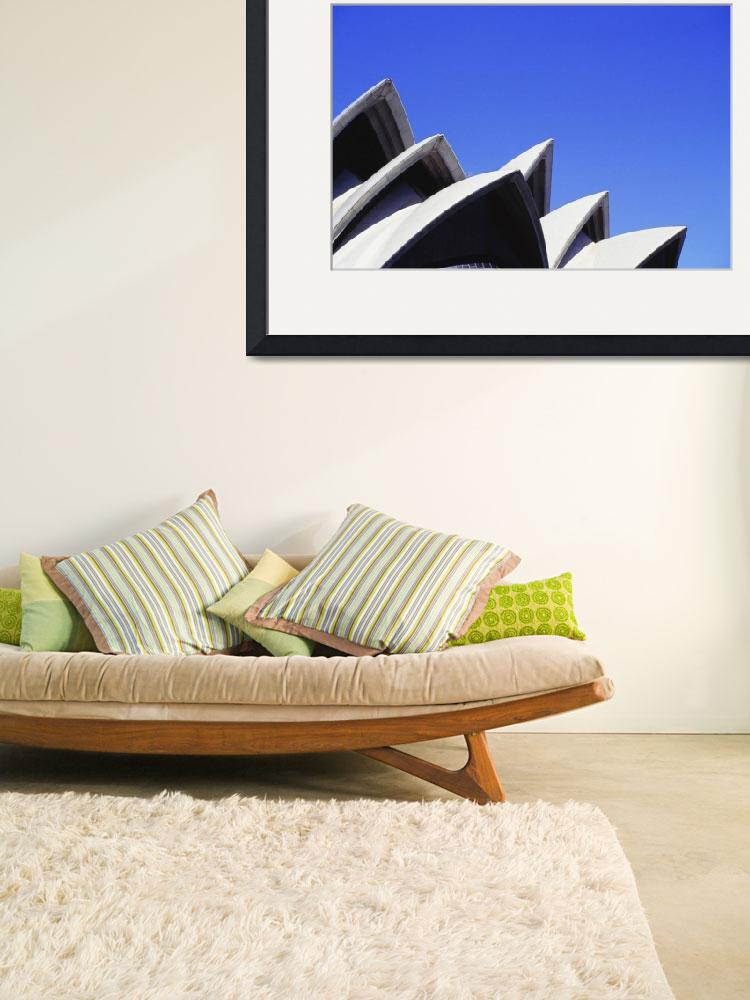 """Australia, Sydney Opera House, Close-Up&quot  by DesignPics"