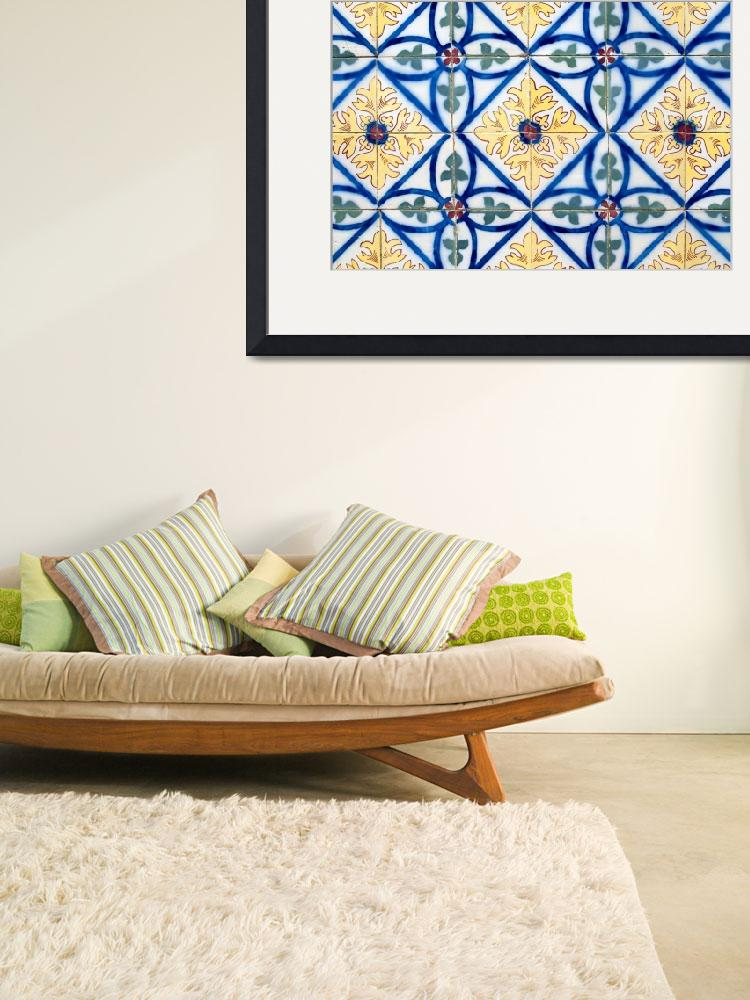 """Portuguese glazed tiles&quot  by homydesign"