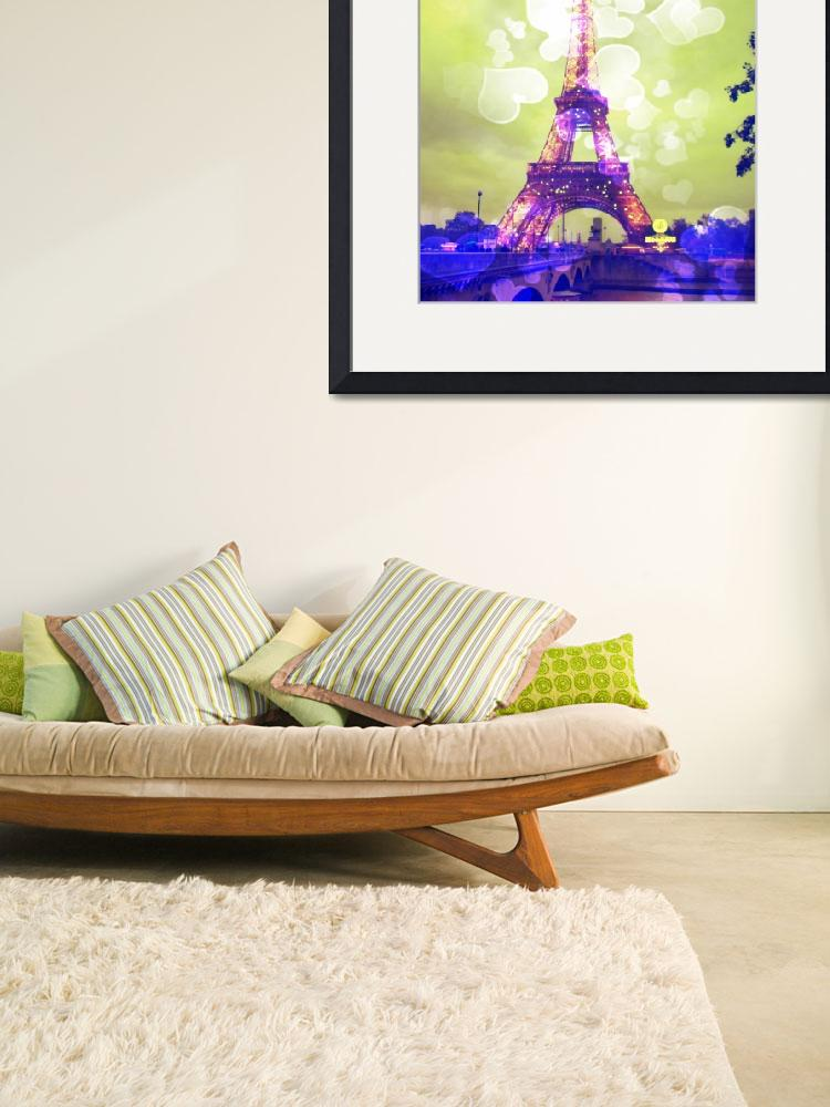 """Eiffel Tower in Green&quot  by Linde"