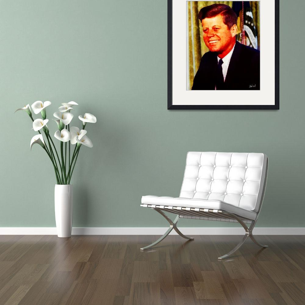 """JOHN F KENNEDY&quot  (2011) by Zaboni"