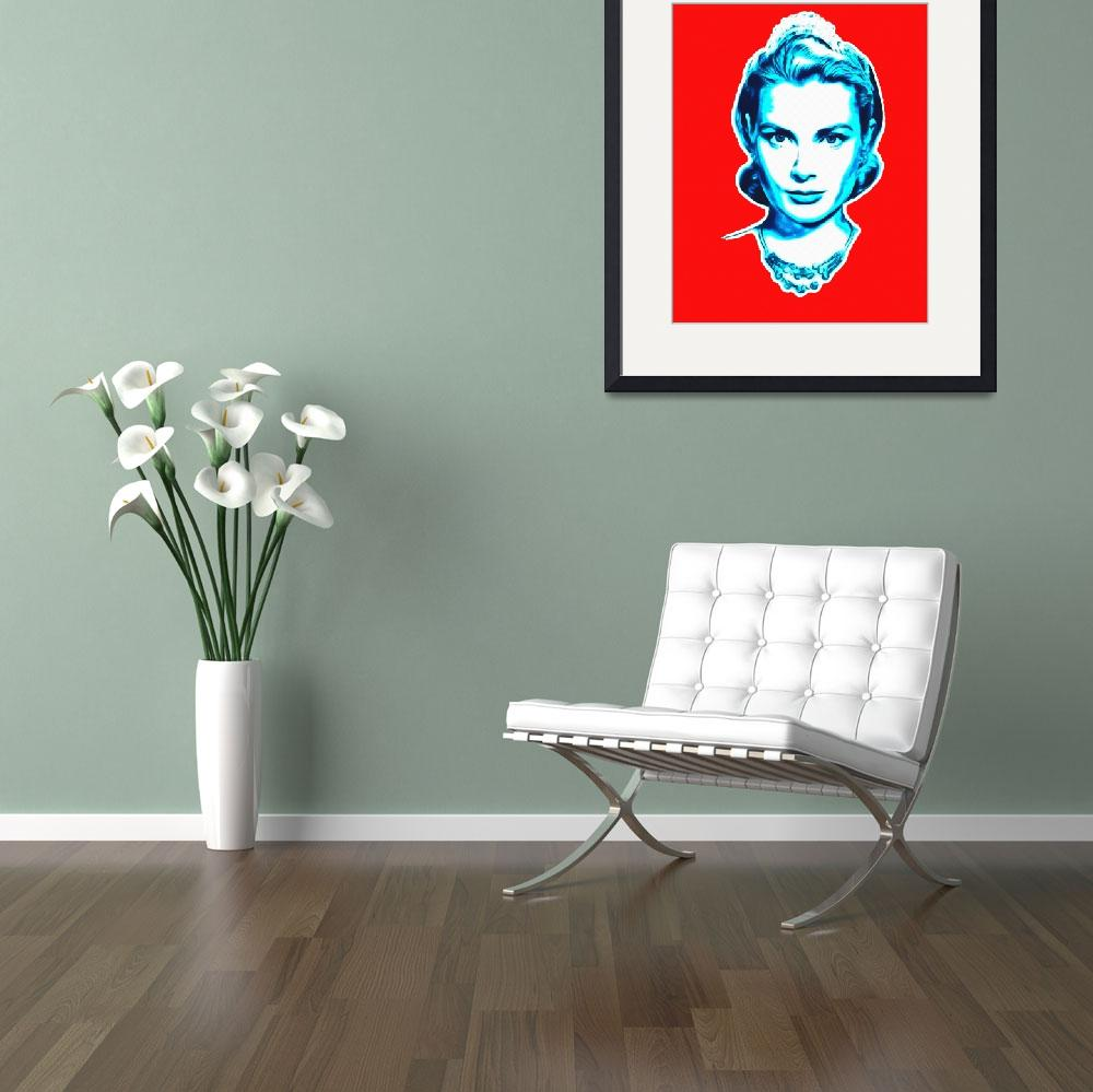 """Grace Kelly&quot  (2013) by ArtCinemaGallery"